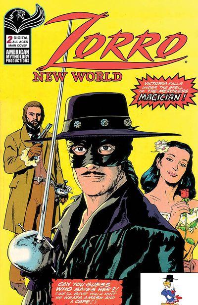 Zorro New World #2 (2021)