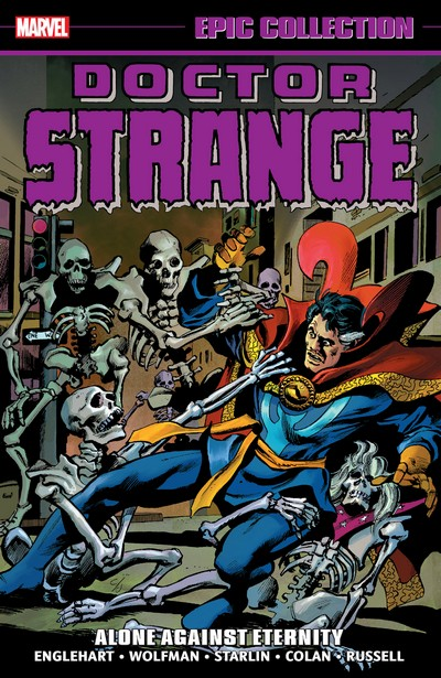 Doctor Strange Epic Collection Vol. 4 – Alone Against Eternity (2021)