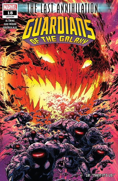 Guardians Of The Galaxy #18 (2021)