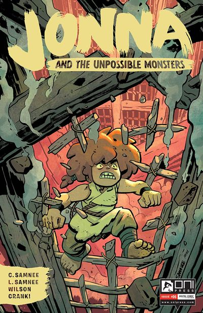 Jonna and the Unpossible Monsters #6 (2021)