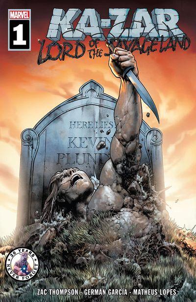 Ka-Zar Lord of the Savage Land #1 (2021)