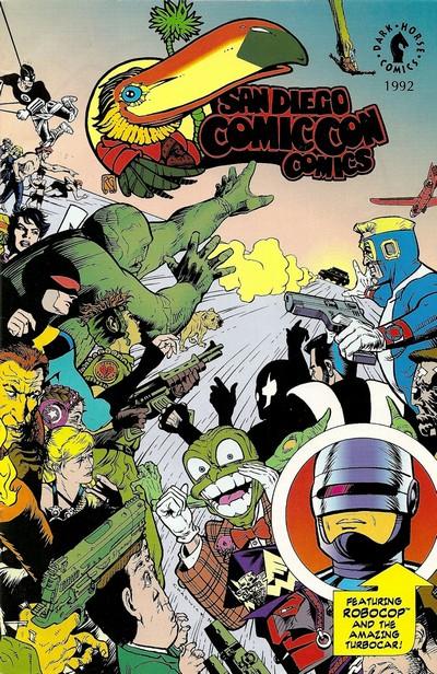 San Diego Comic-Con Comics #1 – 4 (1992-1995)
