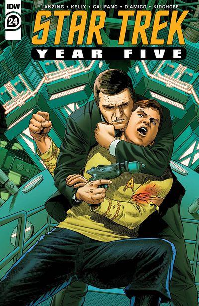 Star Trek – Year Five #24 (2021)