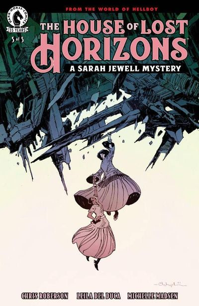 The House of Lost Horizons – A Sarah Jewell Mystery #5 (2021)