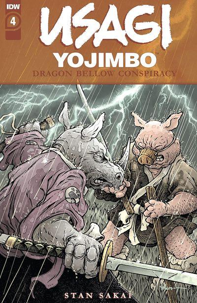 Usagi Yojimbo – The Dragon Bellow Conspiracy #4 (2021)