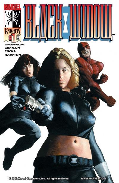 Black Widow #1 – 3 (2001)