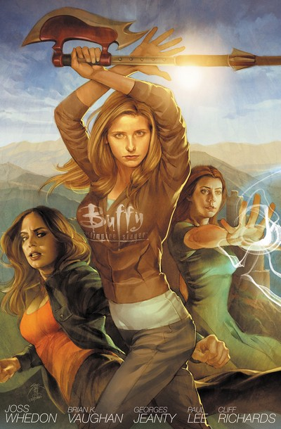 Buffy the Vampire Slayer Season 8 – Library Edition Vol. 1 – 4 (2012-2013)