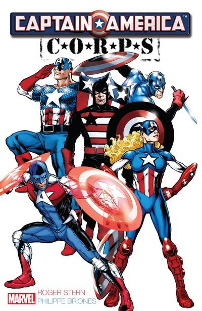 Captain America – Corps (TPB) (2015)