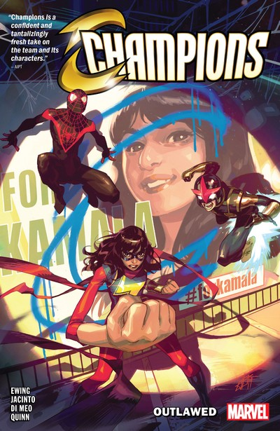 Champions Vol. 1 – Outlawed (TPB) (2021)