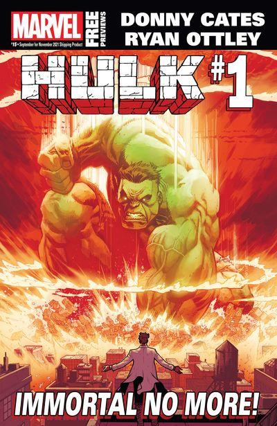 Marvel Previews #15 (September for November 2021)