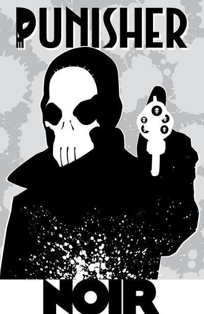 Punisher Noir (2009) (Fan Made TPB)