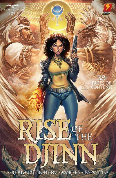 Rise of the Djinn #1 (2021)