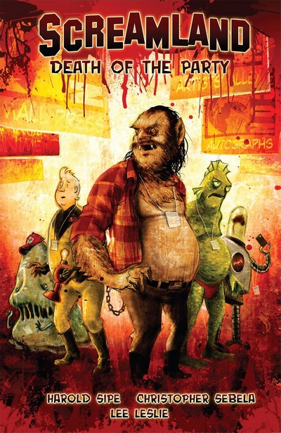 Screamland – Death of the Party (TPB) (2011)