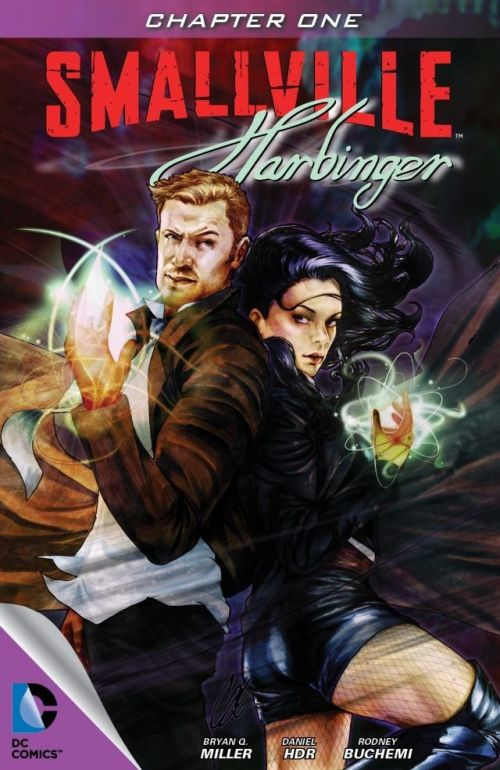 Smallville – Harbinger 001 – 004 Free Download