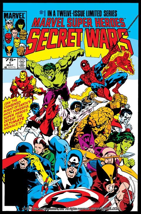 Secret Wars I #1 – 12