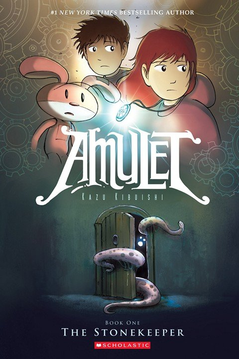 Amulet Vol. 1 – 8 (2008-2018)