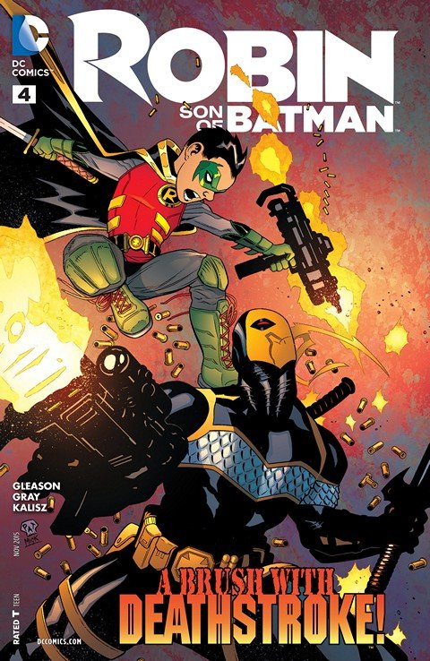 Robin – Son of Batman #4