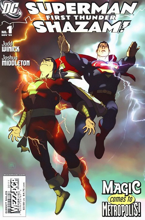 Superman Shazam – First Thunder #1 – 4