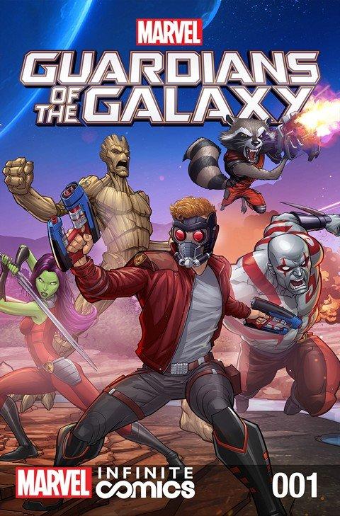 Marvel Universe Guardians of the Galaxy Infinite Comics #1