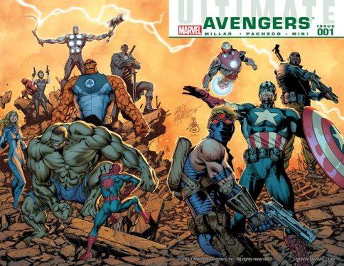 Ultimate Avengers Vol. 1 – 3 + vs. New Ultimates
