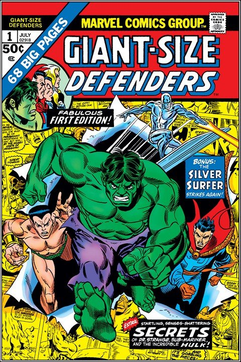 Giant-Size Defenders #1 – 4