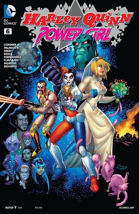 Harley Quinn and Power Girl #6