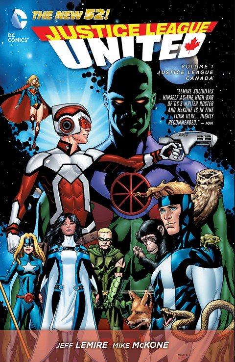Justice League United Vol. 1 – Justice League Canada