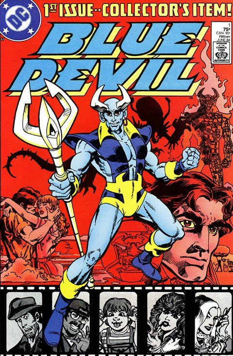 Blue Devil #1 – 31 + Annual + Extras