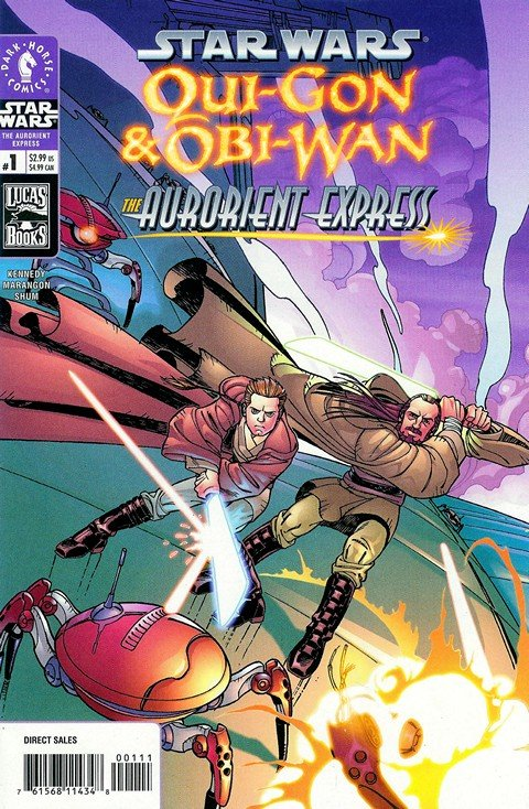 Star Wars – Qui-Gon & Obi-Wan – The Aurorient Express #1 – 2