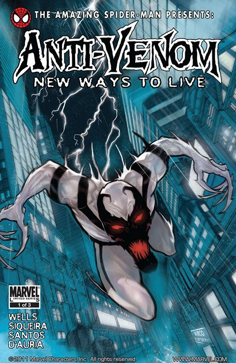 The Amazing Spider-Man Presents – Anti-Venom – New Ways to Live #1 – 3