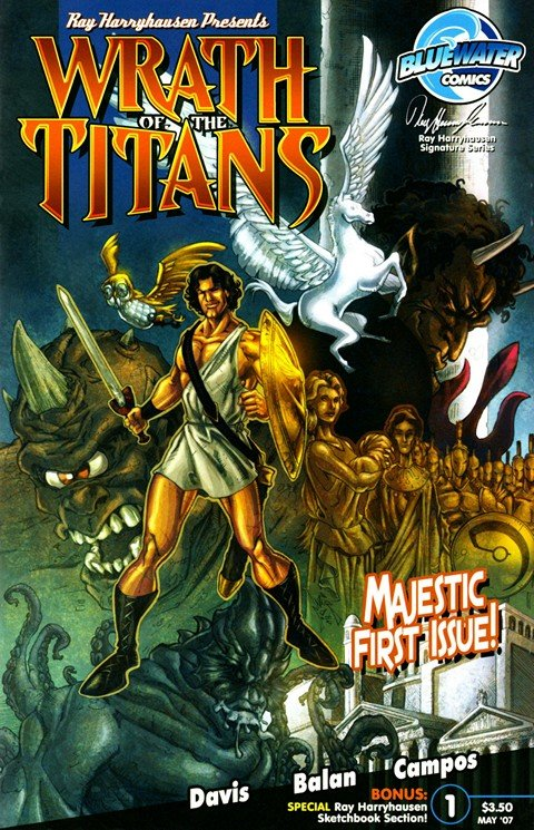 Wrath of the Titans #1 – 4