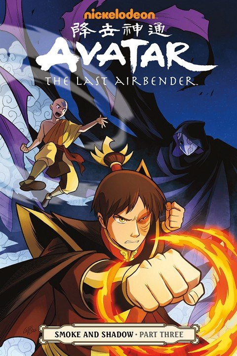 Avatar – The Last Airbender – Smoke and Shadow Part 3