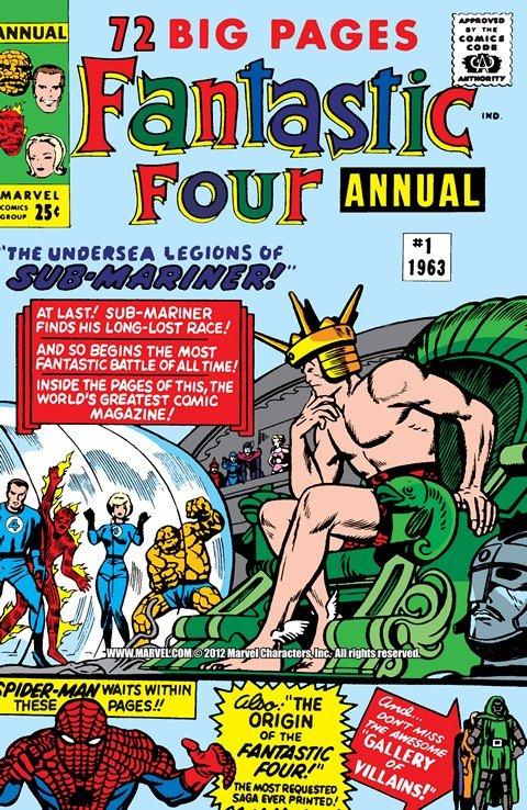 Fantastic Four – Annuals #1 – 33