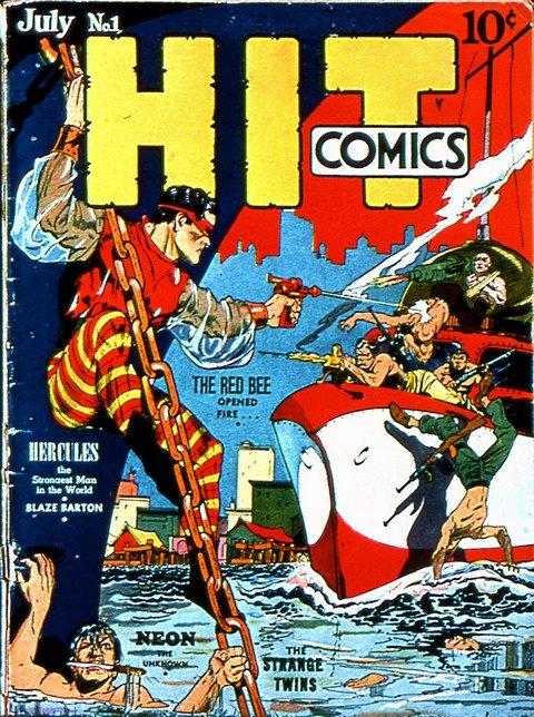 Hit Comics-Kid Eternity #1 – 64 (Quality Comics)