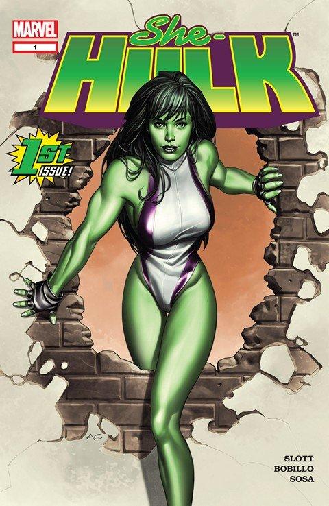 She-Hulk Vol. 1 #1 – 12