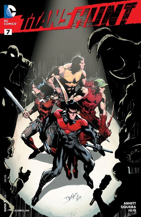 Titans Hunt #7