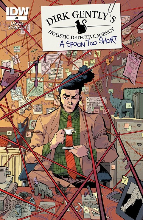 Dirk Gently's Holistic Detective Agency – A Spoon Too Short #1 – 5