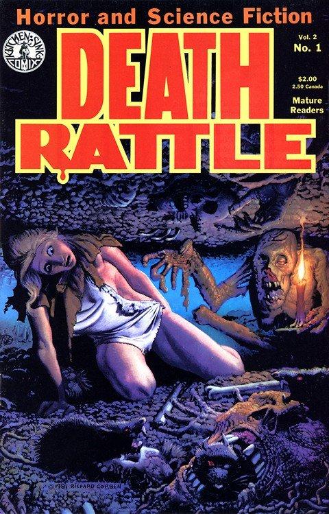 Death Rattle Vol. 2 #1 – 18