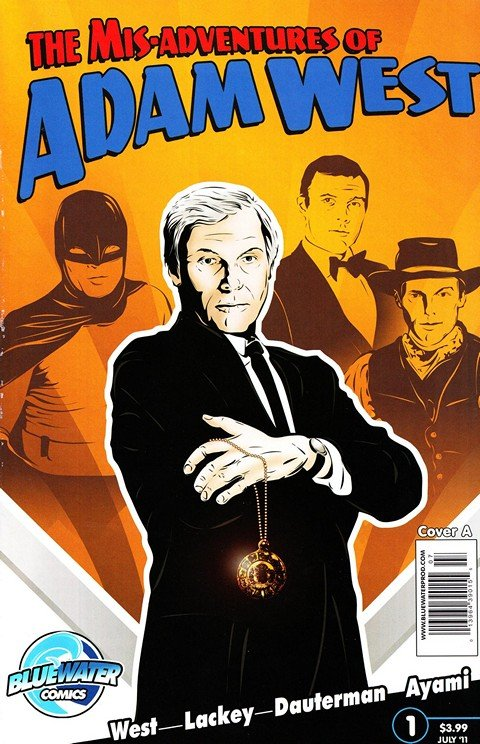 The Mis-Adventures of Adam West (Vol. 1 – 2 + FCBD)