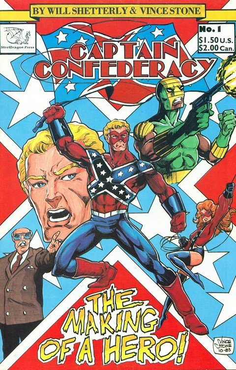 Captain Confederacy (Collection)