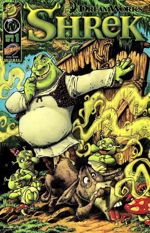 Shrek #1 – 4 (2010)