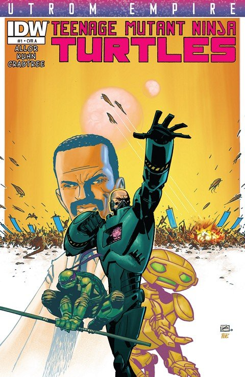 Teenage Mutant Ninja Turtles – Utrom Empire #1 – 3 + TPB