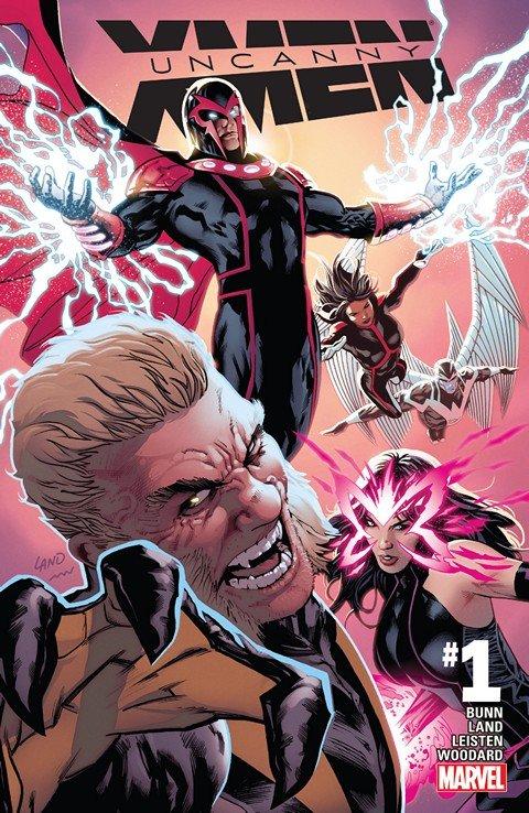Uncanny X-Men #1 – 19 + TPB Vol. 1 + Annual (2016-2017)