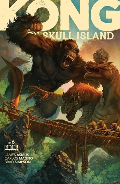 Kong Of Skull Island #6 (2016)