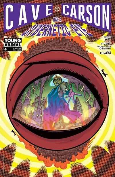 Cave Carson Has a Cybernetic Eye #4 (2017)