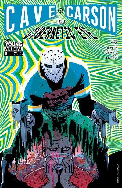 Cave Carson Has a Cybernetic Eye #5 (2017)