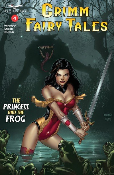 Grimm Fairy Tales Vol. 2 #4 (2017)