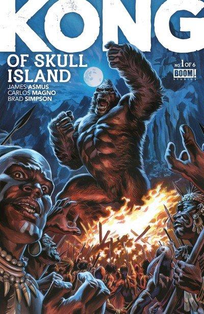 Kong Of Skull Island #1 – 9 (2016-2017)