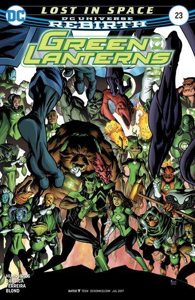 Green Lanterns #23 (2017)
