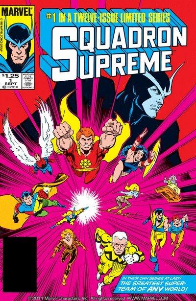 Squadron Supreme #1 – 12 (1985-1986)